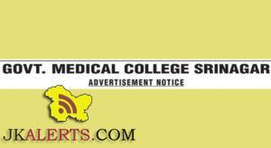 Professor, Associate Professor Jobs in Super Specialties Hospital, GMC, Srinagar