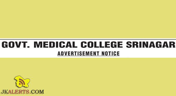 Professor, Associate Professor Jobs in Super Specialties Hospital, GMC, Srinagar