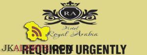 Jobs in Hotel Royal Arabia Head Accountant, Executive Sales, Bell Boys