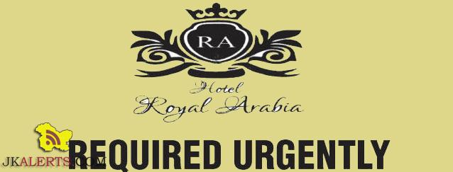 Jobs in Hotel Royal Arabia Head Accountant, Executive Sales, Bell Boys