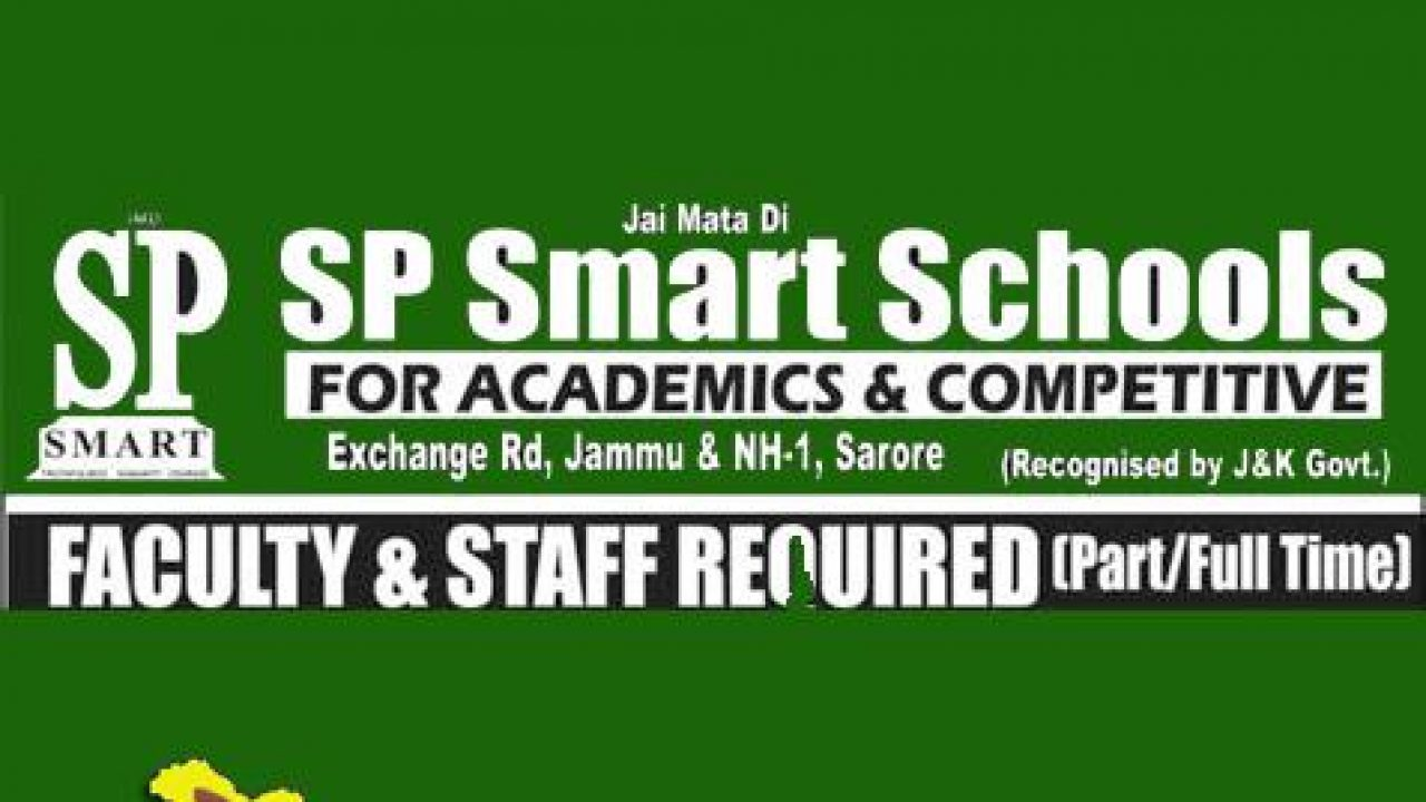 Jobs in SP Smart Hiring for Exchange Road & Sarore Jammu | JKALERTS