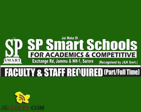 SP Smart Schools Faculty and Staff required Part time / Full Time