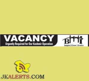 Marketing Executive,Career Counselors, Front Desk Executive, Helper jobs in Srinagar