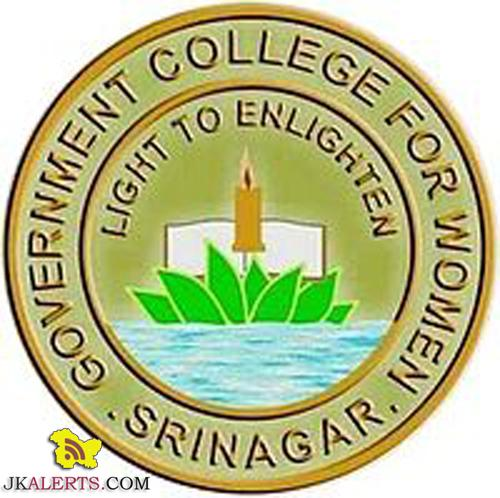 Required substitute teacher in Govt college for women Srinagar