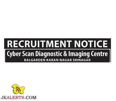 Jobs in Cyber Scan Diagnostic & Imaging Centre