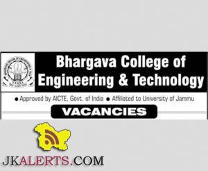 Bhargava College of Engineering & Technology