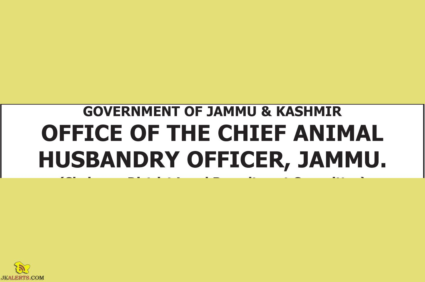 Jobs in Class-IV Posts in Animal Husbandry Department