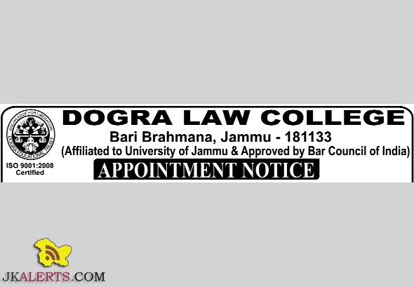 Principal, Lecturer jobs in Dogra law college Bari Brahamana