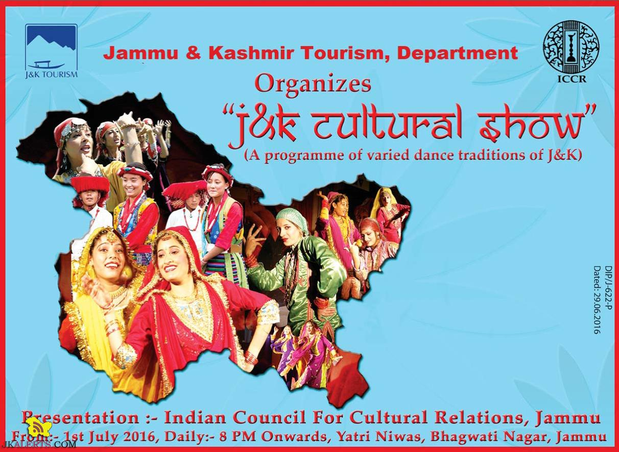 J&K Cultural Show by Jammu & Kashmir Tourism, Department