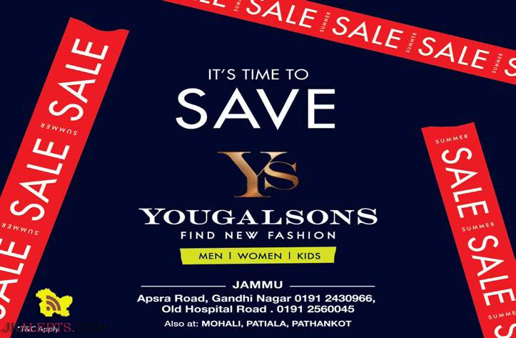 YOUGAL SONS SUMMER SALE FIND NEW FASHION FOR MEN WOMEN KIDS