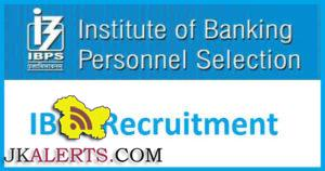 IBPS Clerical Cadre (CWE Clerks -VI) Recruitment 2016