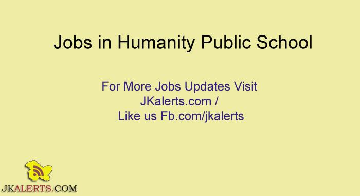 Jobs in Humanity Public School