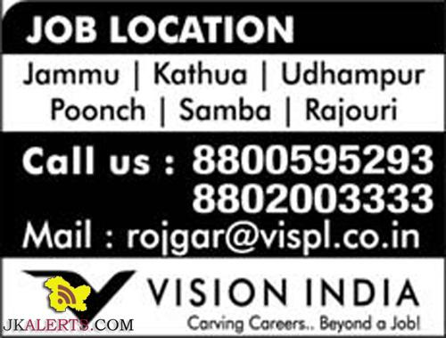 Private jobs in Jammu, Kathua, Udhampur, Poonch, Samba, Rajouri