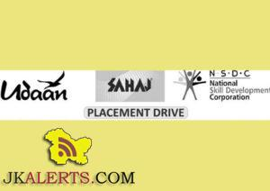 Udaan Walk in Interviews in Udhampur, Jammu, Kathua for Retail, ITeS, Back Office