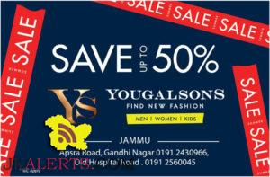 Yougal sons Sale upto 50% off on Men Women Kids