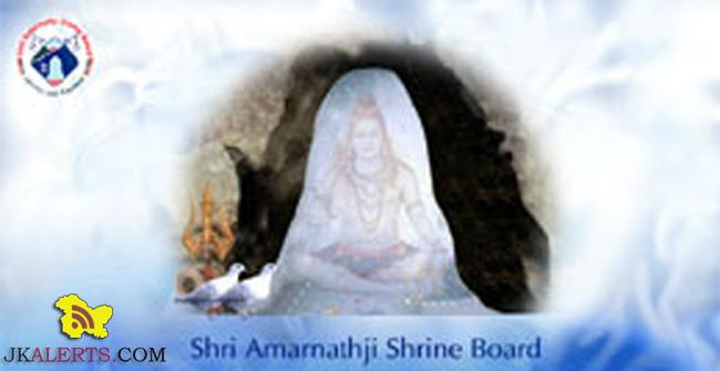 Walk-in-interview Shri Amarnathji Shrine Board Jobs
