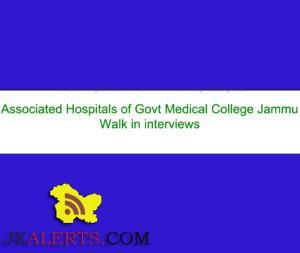 Latest Jobs Update alerts Jammu
