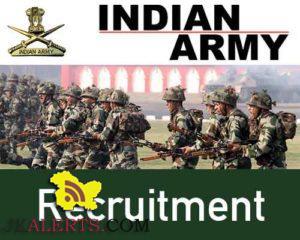 Indian ArmyRecruitment 2018-19 191 posts