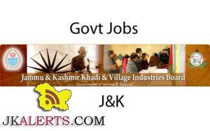 jobsKhadi and village industries