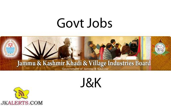 jobs Khadi and village industries