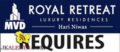Royal Retreat Jammu Jobs