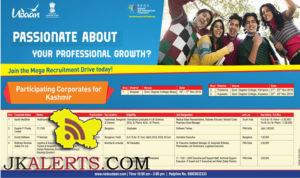 Udaan Mega Recruitment Drive Shopian, Pampore, Kupwara