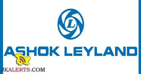 Ashok Leyland Jammu Jobs