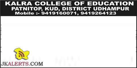 KALRA COLLEGE OF EDUCATION JOBS