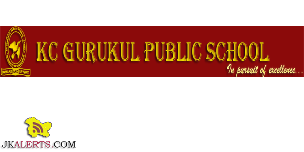 KC GURUKUL COLLEGE OF EDUCATION, PALOURA, JAMMU JOBS