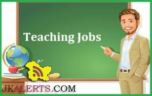 EVERGREEN HR. SEC. SCHOOL JAMMU JOBS