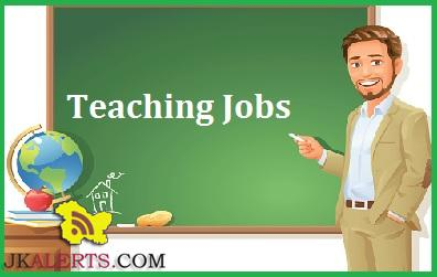 EVERGREEN HR. SEC. SCHOOL JAMMU JOBS