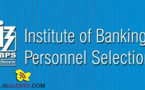 IBPS Recruitment for 10,190 Officers, Office Assistant, RRB Exam 2018