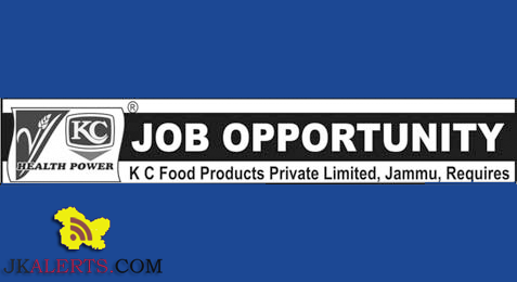K C Food Products Private Limited, Jammu, Jobs