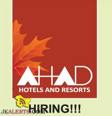 AHAD HOTELS AND RESORTS JOBS