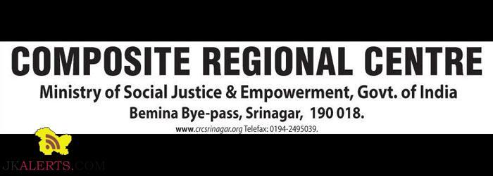 COMPOSITE REGIONAL CENTRE SRINAGAR