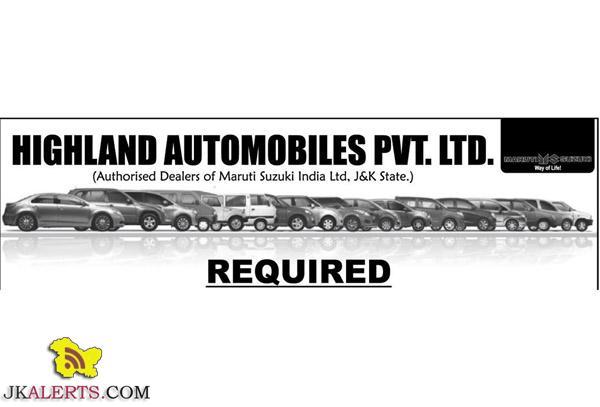 HIGHLAND AUTOMOBILES PVT. LTD. JOBS