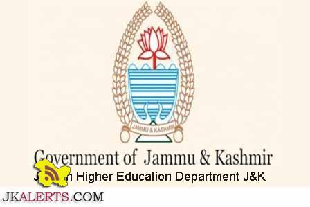 Jobs in Government Degree College Bemina Srinagar, Jobs in Government MAM College Jammu.