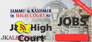 Jobs in High Court