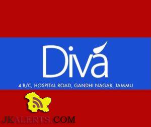 JOBS IN DIVA a leading fashion apparel retail house of Jammu