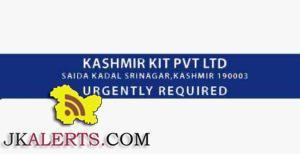 JOBS IN KASHMIR KIT PVT LTD, GRAPHIC DESIGNER JOBS