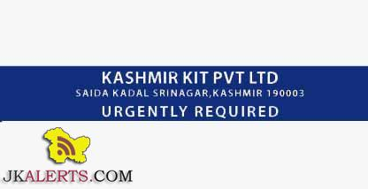 JOBS IN KASHMIR KIT PVT LTD, GRAPHIC DESIGNER JOBS