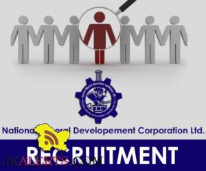 National Mineral Development Corporation Recruitment 2017