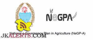 National e-Governance Plan in Agriculture (NeGP-A)