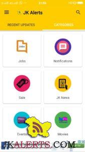Free Mobile App for Govt and Private Jobs in Jammu and Kashmir, GET FREE JOBS ALERTS