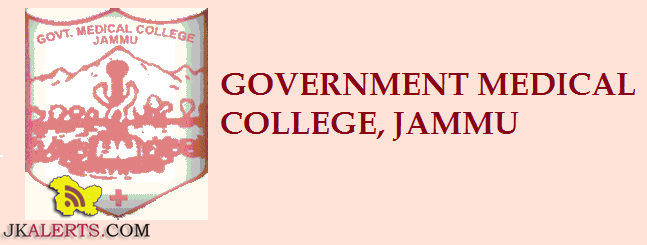 GMC Jammu Jobs Notification