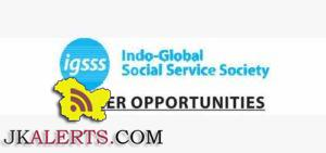Indo-Global Social Service Society IGSSS Recruitment 2017