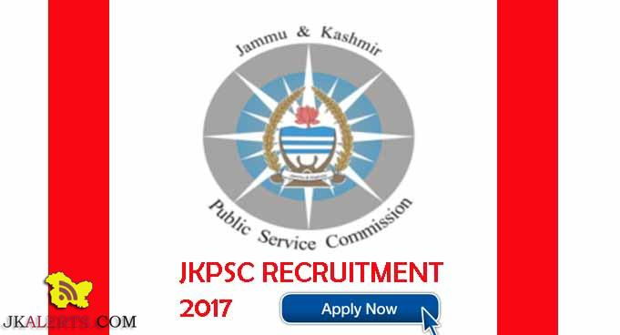 JKPSC District Litigation Officer Advertisement 2017