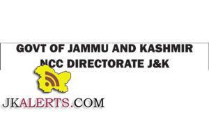 Class IV Recruitment NCC Directorate J&K
