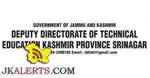 Academic arrangements in the ITI's Technical Education department Jobs