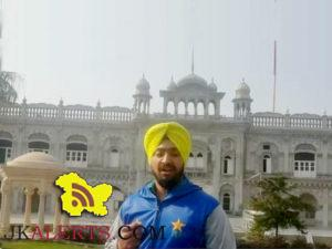 Mahinder Pal Singh Pakistan's first Sikh cricketer